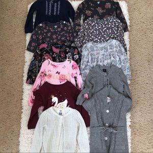 Other - LOWEST / 10 piece bundle of girl's 2t tops